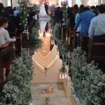 Passarela Espelhada - Casamento Itajobi, SP.