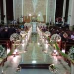 Passarela Espelhada - Casamento Bariri, SP.