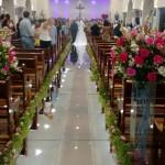 Passarela Espelhada - Casamento em José Bonifácio, SP.